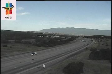 I-40 at Sedillo Hill